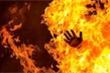 Mâu thuẫn gia đình, chồng đốt vợ rồi lên công an tự thú