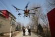 Trung Quốc dùng máy bay không người lái trong trận chiến chống virus corona