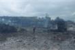 Xe chở pháo hoa phát nổ gần cửa khẩu Lao Bảo, nhiều người thương vong