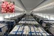 Vietnam Airlines dùng siêu máy bay chuyên chở vải thiều Bắc Giang