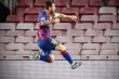 Kết quả cúp C1: Messi tỏa sáng, Barca vào tứ kết