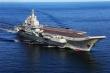 Tàu sân bay Trung Quốc di chuyển đến Biển Đông tập trận