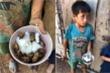 Dân mạng thắt ruột xót thương 4 đứa trẻ Đắk Lắk ăn cơm nguội với ve sầu