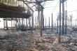 Cháy lớn suốt 3 giờ, 4 nhà hàng ven biển Hội An bị thiêu rụi