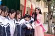 Hoa hậu Đỗ Thị Hà ra mắt quỹ học bổng mang tên mình tại Thanh Hóa