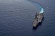 Tàu chiến Trung Quốc quan sát tàu sân bay Mỹ tập trận ở Biển Đông