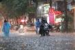 Đường phố Hà Nội ngập nặng sau trận mưa lớn