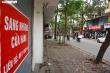 Kinh doanh ế ẩm, loạt cửa hàng trên phố lớn Hà Nội trả mặt bằng