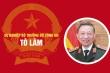 Infographic: Sự nghiệp Bộ trưởng Công an Tô Lâm