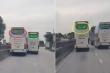 Kinh hãi xe khách chèn ép nhau trên quốc lộ 1A: CSGT Thanh Hóa lên tiếng