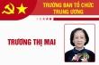 Infographic: Sự nghiệp Trưởng ban Tổ chức Trung ương Trương Thị Mai