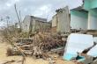 Triều cường quật sập nhà dân ven biển ở Quảng Ngãi: Dựng kè chống sạt lở