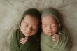 Hai con sinh đôi đáng yêu của MC Thành Trung