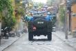 6 xe chuyên dụng của quân sự phun tiêu độc phố cổ Hội An