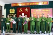 Khen thưởng ban chuyên án bắt 5 người Lào đưa 30 bánh heroin và 18kg ma túy đá vào Việt Nam