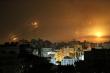 Ảnh: Hệ thống phòng thủ Vòm Sắt chặn đứng tên lửa của Hamas