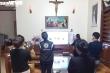 Nhà thờ không gióng chuông, giáo dân Nghệ - Tĩnh dự lễ Phục sinh trực tuyến