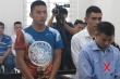 Kẻ nổ súng cướp ngân hàng Techcombank ở Hà Nội lĩnh 23 năm tù