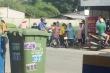 Thi thể trẻ sơ sinh bị bỏ trong thùng rác tại TP.HCM