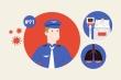Infographic: 10 dấu mốc quan trọng khi điều trị bệnh nhân phi công Anh
