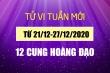 Tuần mới của 12 cung hoàng đạo (21/12-27/12): Song Tử có cơ hội đổi đời