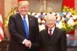 TBT, Chủ tịch nước Nguyễn Phú Trọng và Tổng thống Trump chúc mừng 25 năm Việt-Mỹ