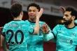 Kết quả Ngoại hạng Anh: Siêu dự bị tỏa sáng, Liverpool đè bẹp Arsenal