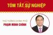 Infographic: Sự nghiệp Thủ tướng Phạm Minh Chính