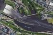 Đi theo chỉ dẫn của Google Maps, người đàn ông lái xe lao thẳng xuống sông