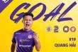 Văn Quyết, Quang Hải lập công, Hà Nội FC khiến CLB TP.HCM tiếp tục ôm hận