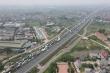 Hàng xe nối dài, ùn tắc gần 3km ở chốt kiểm dịch trên cao tốc Pháp Vân - Cầu Giẽ