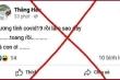 Facebooker tự nhận 'dương tính Covid-19 rồi, làm sao đây' bị phạt 10 triệu đồng