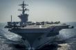Sức mạnh 'bất khả xâm phạm' của những tàu sân bay Mỹ điều tới Biển Đông trong năm 2018