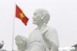Ảnh: Hơn chục pho tượng La Hán bị kẻ xấu đập phá trong ngôi chùa ở Hà Nội
