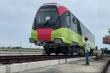 Video: Đoàn tàu đường sắt đô thị Nhổn - Ga Hà Nội được đưa lên ray chờ chạy thử
