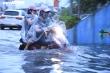 Mưa lớn kéo dài, đường phố Hải Phòng biến thành sông