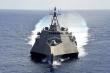Chiến hạm Mỹ áp sát tàu khảo sát Trung Quốc ở Biển Đông