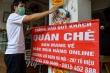 Ảnh: Hàng quán 'vùng xanh' ở Hà Nội tất bật dọn dẹp để mở bán trở lại