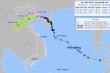 Bão số 7 suy yếu thành áp thấp nhiệt đới, bão Kompasu sắp vào Biển Đông