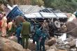 Xe tải lao xuống vực, 3 người chết ở Lai Châu