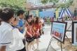 Xúc động hình ảnh lễ khai giảng hướng về biển đảo tại ngôi trường ở Hà Nội
