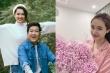 Nhã Phương khoe quà 8/3 muộn, tiết lộ Trường Giang đang tự cách ly để bảo vệ con gái