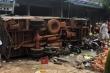 Xe tải lao vào chợ làm 5 người chết: Tài xế đâm vào container để giảm tốc độ