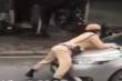 Hà Nội: Tài xế taxi hất trung uý CSGT lên nắp capô rồi bỏ chạy