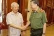Tổng Bí thư, Chủ tịch nước làm việc với Thường vụ Đảng ủy Công an Trung ương