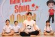 Hàng nghìn học sinh Thủ đô đồng diễn hưởng ứng ngày Quốc tế Yoga