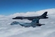 Video: Tiêm kích Nga 'rượt đuổi' máy bay ném bom B-1B của Mỹ trên Biển Đen