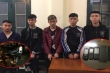 Bắt giữ nhóm thanh niên mang dao phóng lợn đi cướp ở Hà Nội