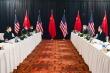 Tranh luận nảy lửa, đoàn Mỹ - Trung không ăn tối cùng nhau