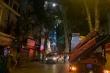 Hà Nội: Sập giàn giáo ở phố Nguyễn Công Trứ, nhiều người thương vong